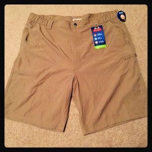 NWT! Wrangler Khaki Shorts